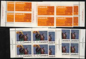 Canada USC #618-619 Mint 1973 PEI Centenary &M Scottish Settler NH