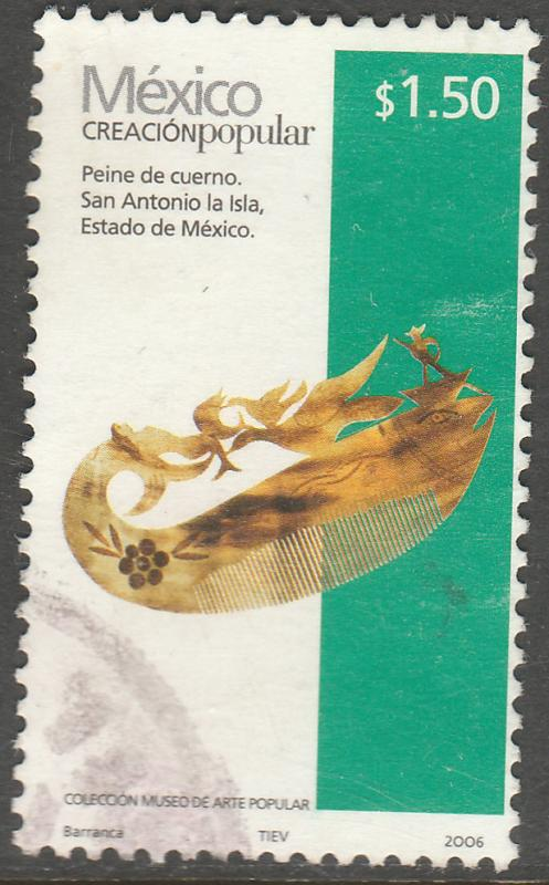 MEXICO 2490a, $1.50P HANDCRAFTS 2006 ISSUE. USED. F-VF. (1511)