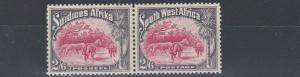 SOUTH WEST AFRICA  1931  S G 82  2/6  CARMINE GREY     MH