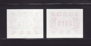 Norway NSL MNH Posthorns (B)