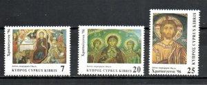Cyprus 897-899 MNH