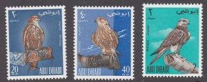 Abu Dhabi # 12-14, Falcons, NH, 1/2 Cat