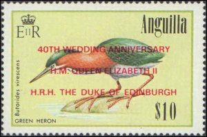 1987 Anguilla #750-753, Complete Set(4), Never Hinged