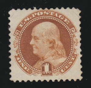 US 133a 1c Franklin Mint VF NGAI  SCV $325