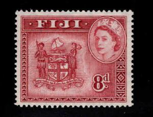 FIJI Scott 155 MH* QE2 Coat of Arms stamp