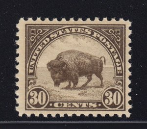 569 VF+ original gum never hinged with nice color cv $ 50 ! see pic !
