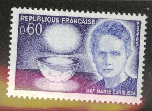 France Scott 1195 MNH** Madame Curie stamp
