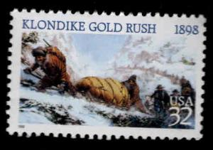 USA Scott 3235 Klondike Gold Rush stamp  MNH**