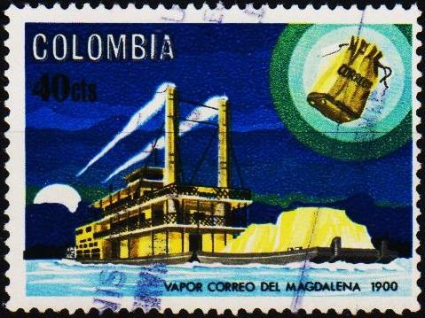 Colombia. 1966 40c S.G.1174 Fine Used