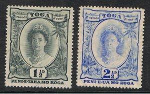 TONGA 1920 - 35 QUEEN SALOTE