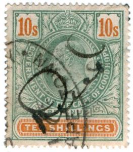 (I.B) Cape of Good Hope Revenue : Stamp Duty 10/-
