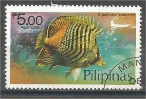 PHILIPPINES, 1978, CTO 5p, Fish Scott 1383
