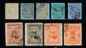 IRAN PERSIA STAMP COLLECTION LOT  #T3