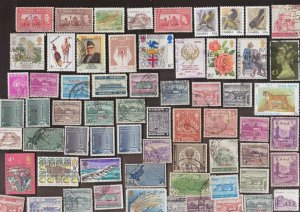 200 All Different  NEPAL STAMPS