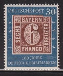 Germany 668 VF-OG-NH scv $ 50 ! see pic !