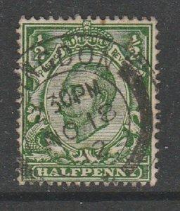 1912 1/2d Deep Green Fine Used SG338