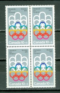 CANADA 1974 OLYMPICS #B2... BLK...MNH...$3.00