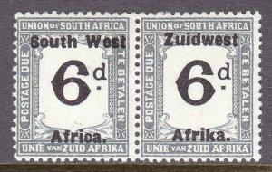 South West Africa - Scott #J20 - MH - SCV $3.00