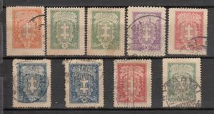 Lithuania 1927 Sc 210//15 Used