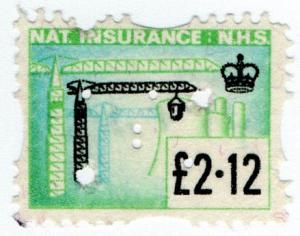 (I.B) Elizabeth II Revenue : National Insurance £2.12
