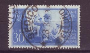 J16989 JLstamps 1948 italy used #484 goverment