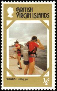 Virgin Islands #327 MNH