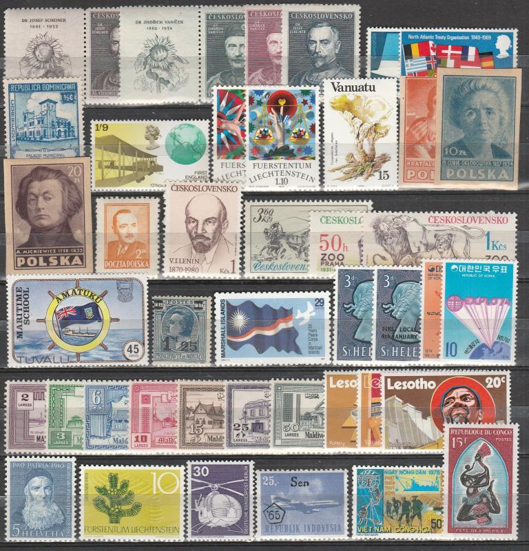 Worldwide  Lot-   Mint Never Hinged  (A13059)