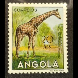Angola #381 MH, CV $13.50