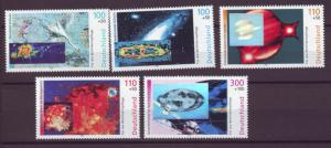 J20591 Jlstamps 1999 germany set mnh #b855-9 the cosmos space
