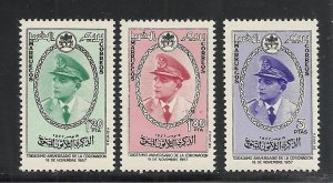 Morocco #19-21 comp mnh cv $5.80