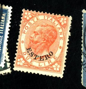 Italy Offices Abroad #11 MINT Fine No Gum HR Cat$350