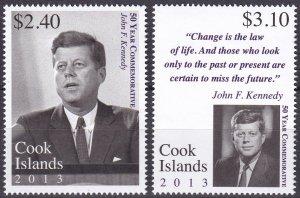 Cook Islands #1476-7  MNH  CV $9.00  (Z9652)