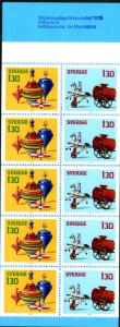 SWEDEN COMPLETE BOOKLET 1270a SCV $5.50 BIN $3.50