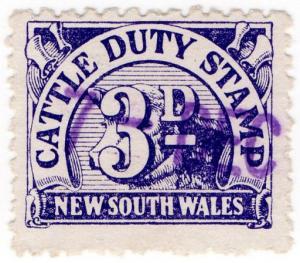 (I.B) Australia - NSW Revenue : Cattle Duty 3d