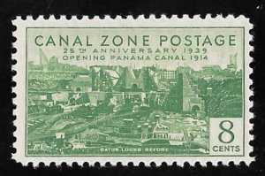 CANAL ZONE 126 8 cents 25th Anniversary Stamp Mint OG NH VF