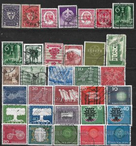 COLLECTION LOT OF 33 GERMANY 1919+  CLEARANCE CV+ $ 23
