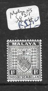 MALAYA NEGRI SEMBILAN (PP1001B) ARMS 1C SG 21  MNH