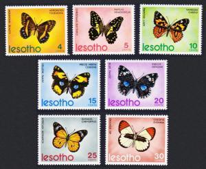 Lesotho Butterflies 7v SG#239-245 MI#140-146 SC#140-146