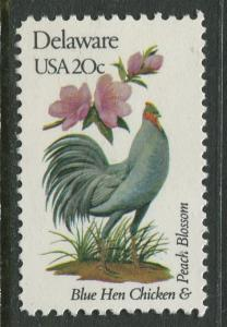 USA - Scott 1960 - State Birds & Flowers - 1982 - MNG - Single 20c Stamp