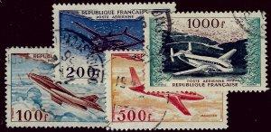 France SC C29-C32 Used F-VF SCV$29.00...Worth a Close Look!