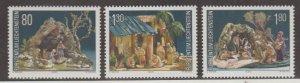 Liechtenstein Scott #1196-1197-1198 Stamps - Mint NH Set