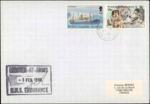 British Antarctic Territory #133, Antarctic Cachet and/or Cancel