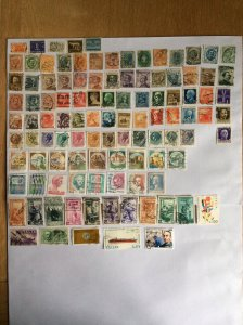 Italy 100+ stamps - Lot F