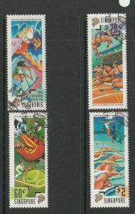 Singapore 1996 Olympic Games FU SG 845/8
