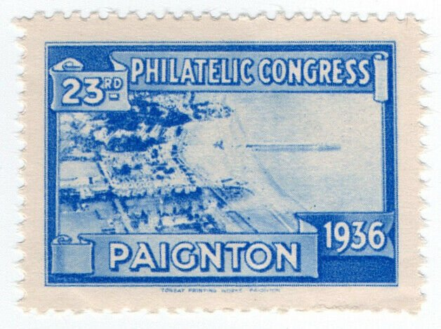 (I.B) Cinderella : 23rd Philatelic Congress (Paignton 1936) The Pier