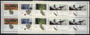 Canada - 39c Majestic Forests of Canada Souvenir Panes