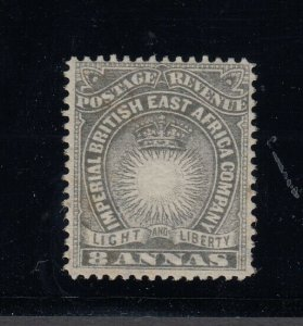 British East Africa, Sc 24 (SG 13), MLH