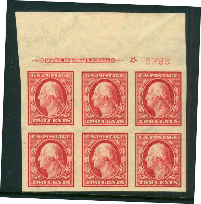 U.S. - 384 - Plate Block - SUPERB (5298) - Never Hinged (cv 200.00)