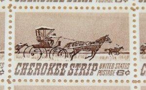 1968 sheet, Cherokee Strip Sc # 1360