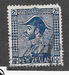New Zealand #182a  2sh  George V in Admirals Uniform (U)  CV$182A